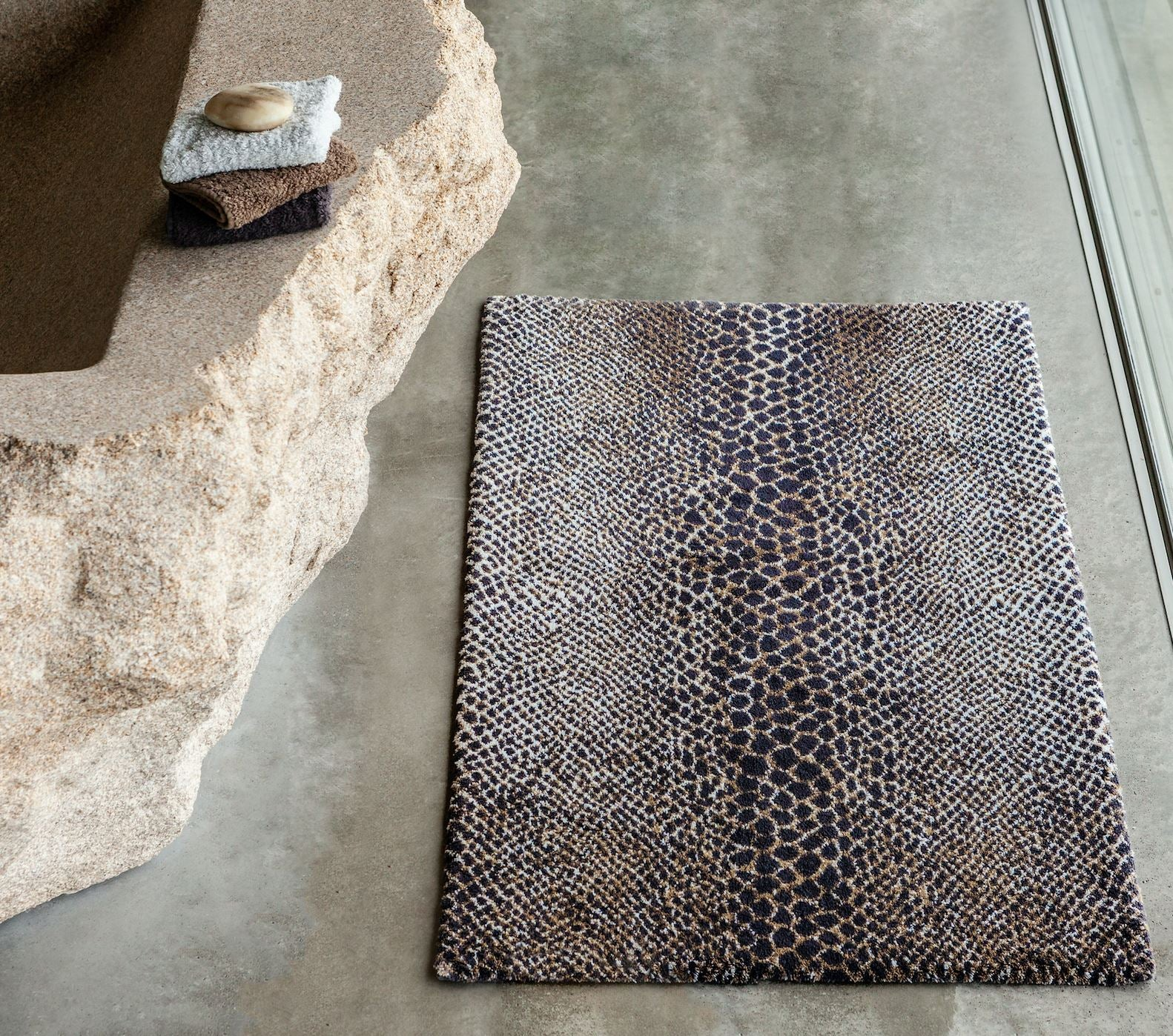 James Bath Rug - Abyss Habidecor Rugs and Mats