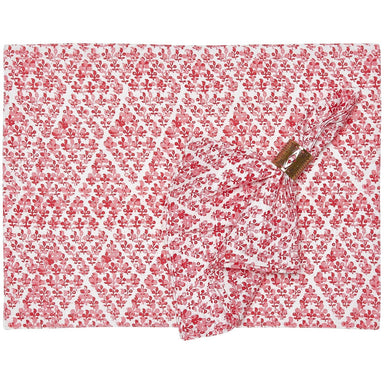 Plavati Lotus Napkins & Placemats by John Robshaw | Fig Linens
