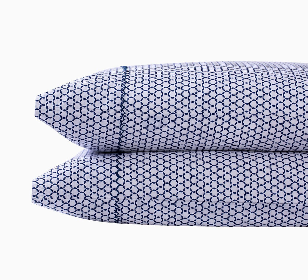 Kesar Indigo Pillowcases - John Robshaw