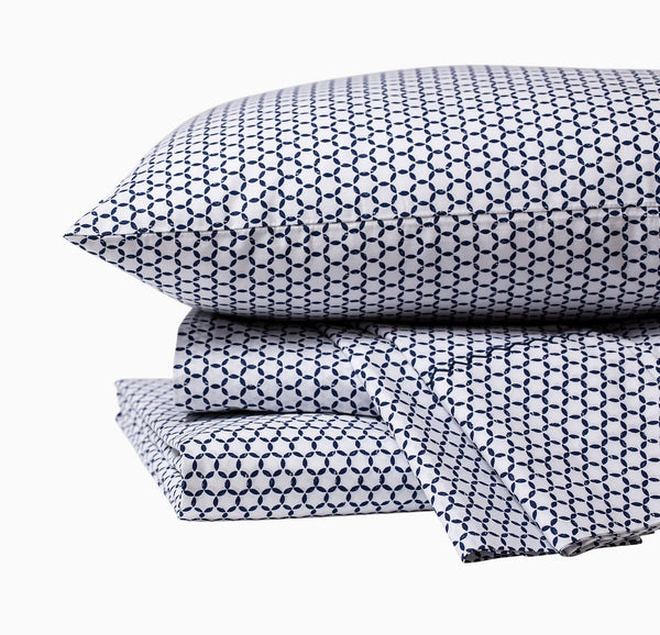 Kesar Indigo Sheet Sets by John Robshaw - Fig Linens