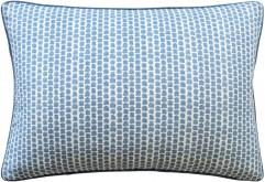 Kaya Blue Lumbar Pillow by Ryan Studio | Lee Jofa Fabric | Fig Linens