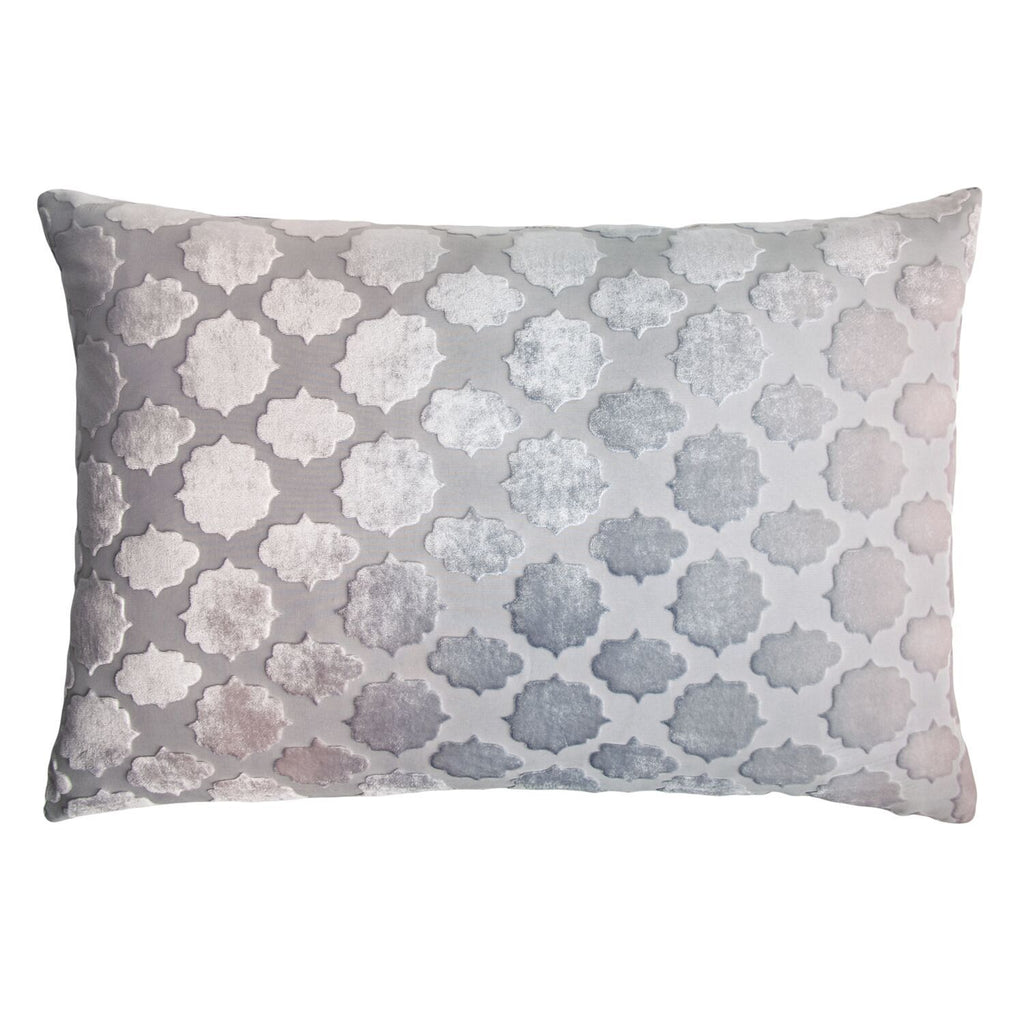 Prism Collection - Moonstone Mod Fretwork Decorative Pillow by Kevin O'Brien Studio - Fig Linens