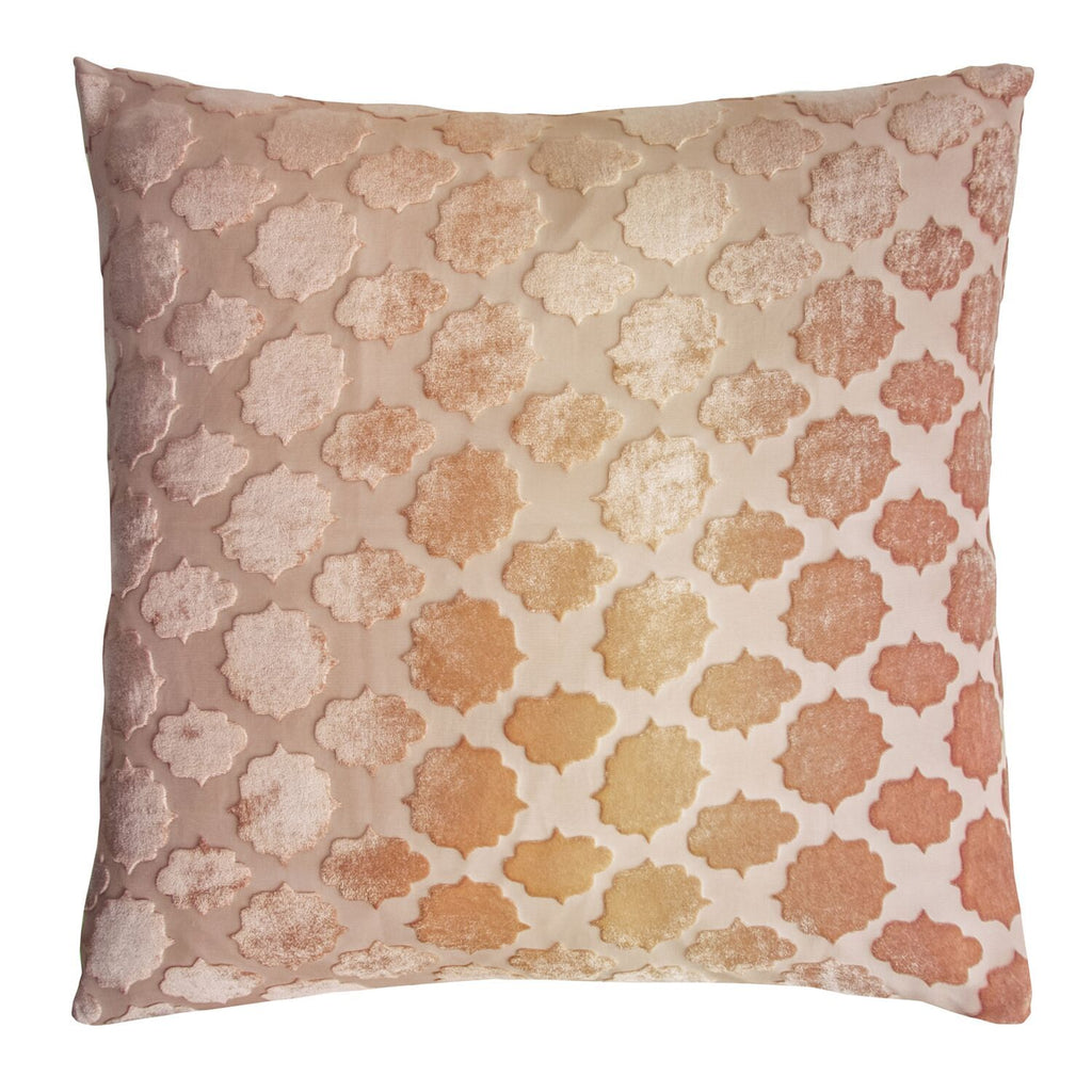 Fig Linens - Sunstone Mod Fretwork Decorative Pillow by Kevin O'Brien Studio