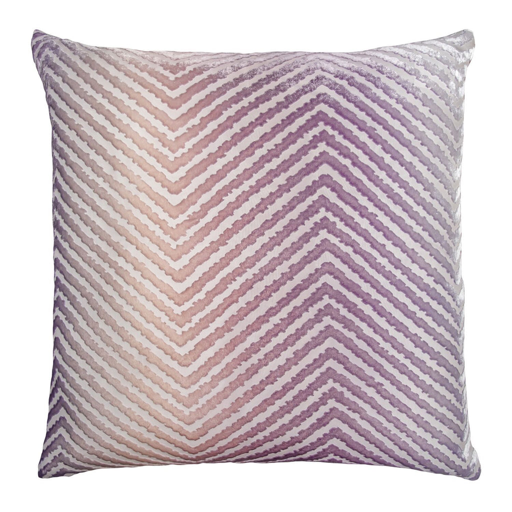 Opal Chevron Velvet Pillows by Kevin O'Brien Studio | Fig Linens