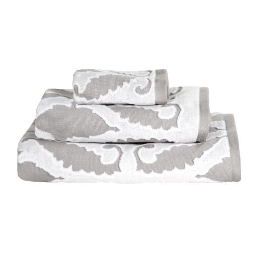 Khoma Gray Towel Collection by John Robshaw