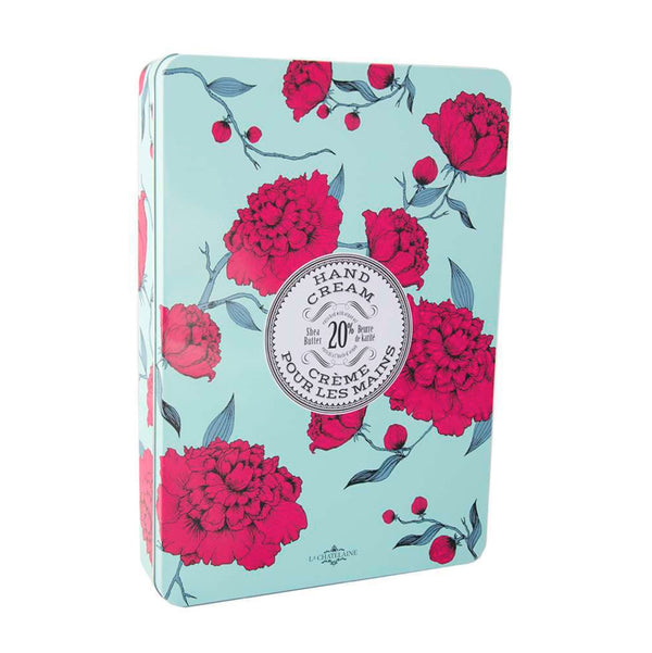 La Chatelaine Hand Cream Gift Set - Deluxe 12 Hand Cream Tin | Fig Linens