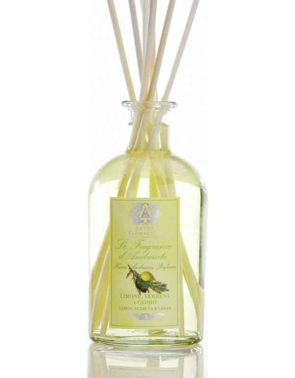 Lemon, Verbena & Cedar 250ml Diffuser by Antica Farmacista | Fig Linens and Home