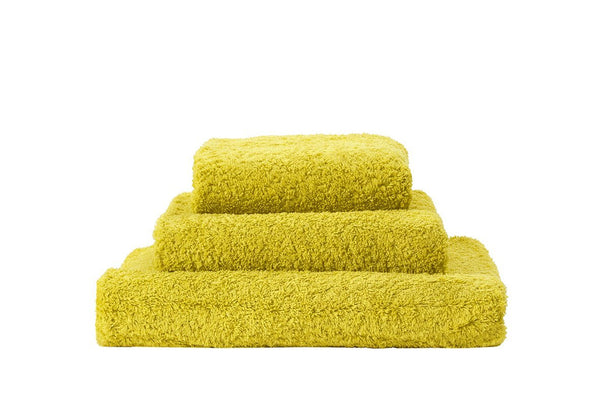 Abyss Super Pile Lemon Curry Towels - Fig Linens