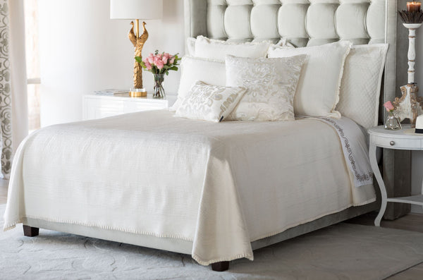 Battersea Ivory Bedding by Lili Alessandra
