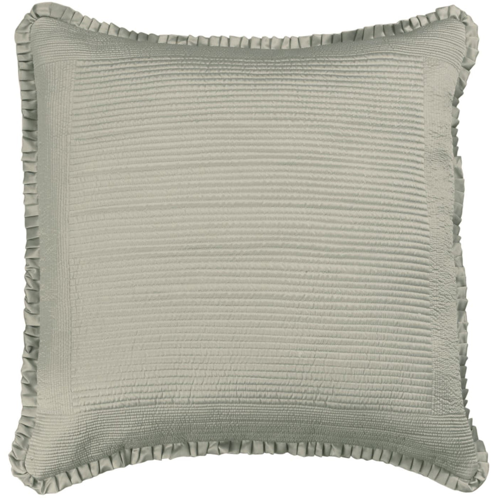 Lili Alessandra Battersea Taupe Euro Pillow