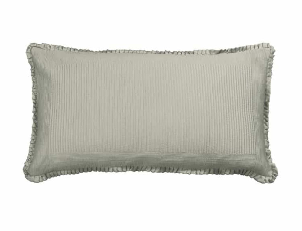Lili Alessandra Battersea Taupe King Pillow