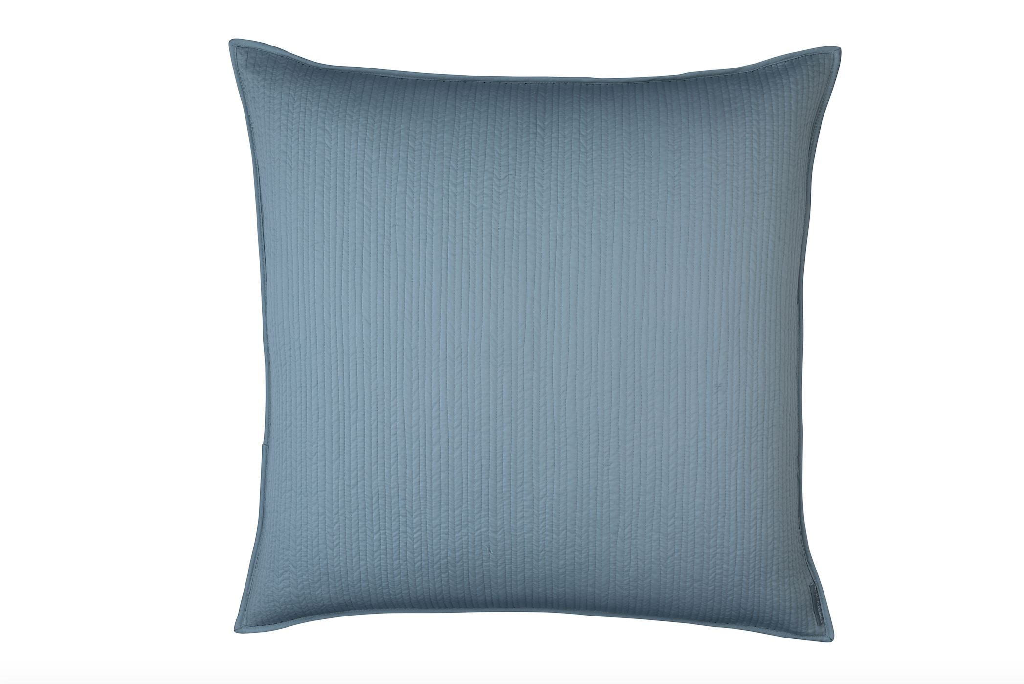 Lili Alessandra Retro Blue euro at fig linens