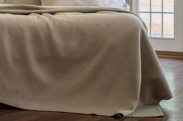 Retro Taupe Coverlet Detail by Lili Alessandra