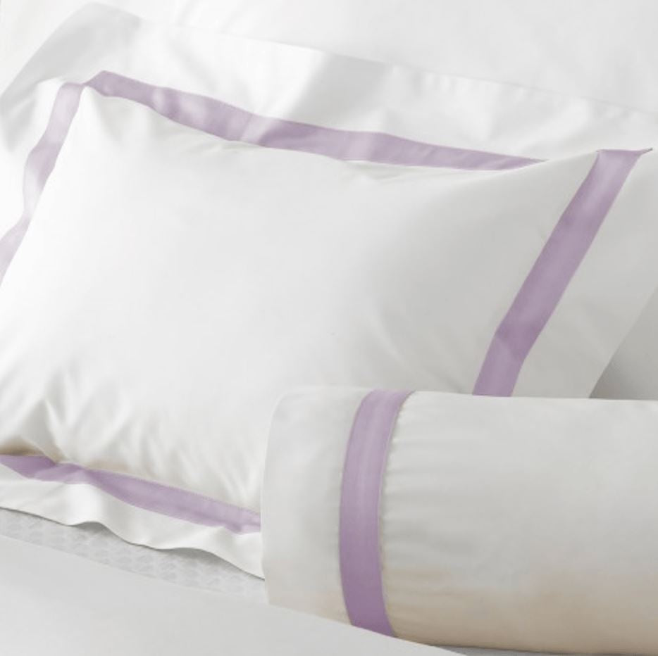 Lowell Violet Bedding by Matouk | Fig Linens and Home