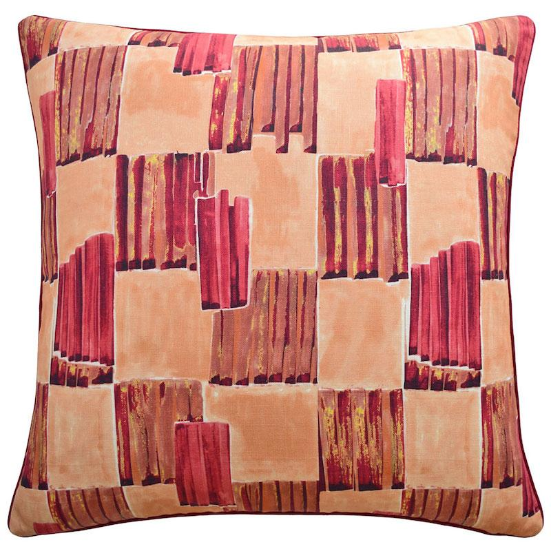 Lyre Fiery Throw Pillow | Ryan Studio at Fig Linens