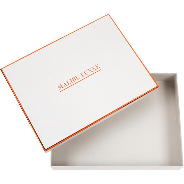 Malibu Luxxe Gift Box - Pom pom throws at fig linens