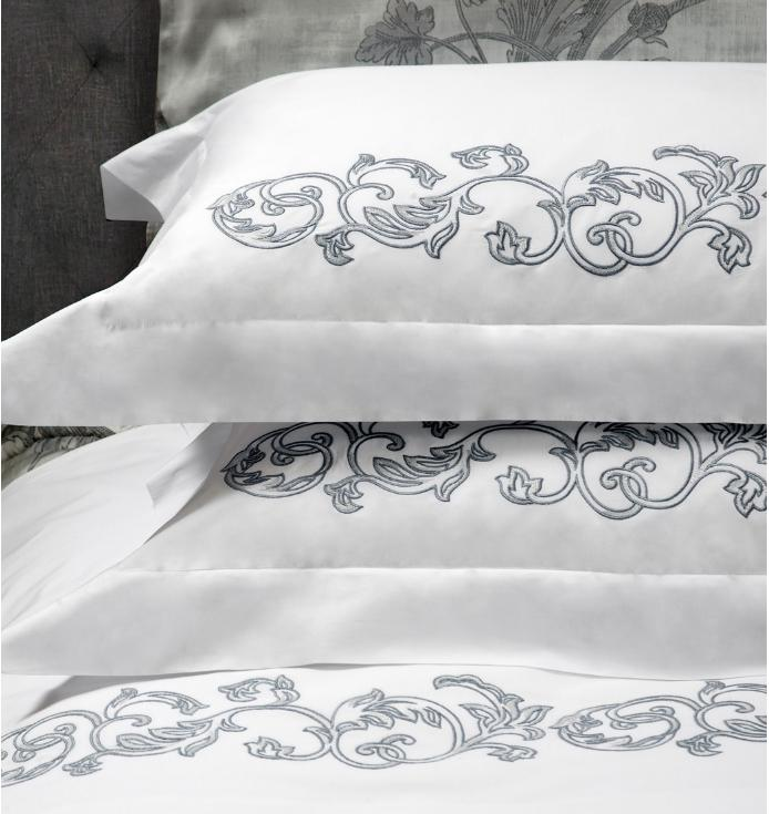 Marmaris Luxury Bedding by Dea Fine Linens - Fig Linens