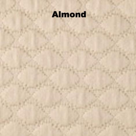 Fig Linens - Pearl Bedding by Matouk - Almond taupe coverlet, sham, bedskirt