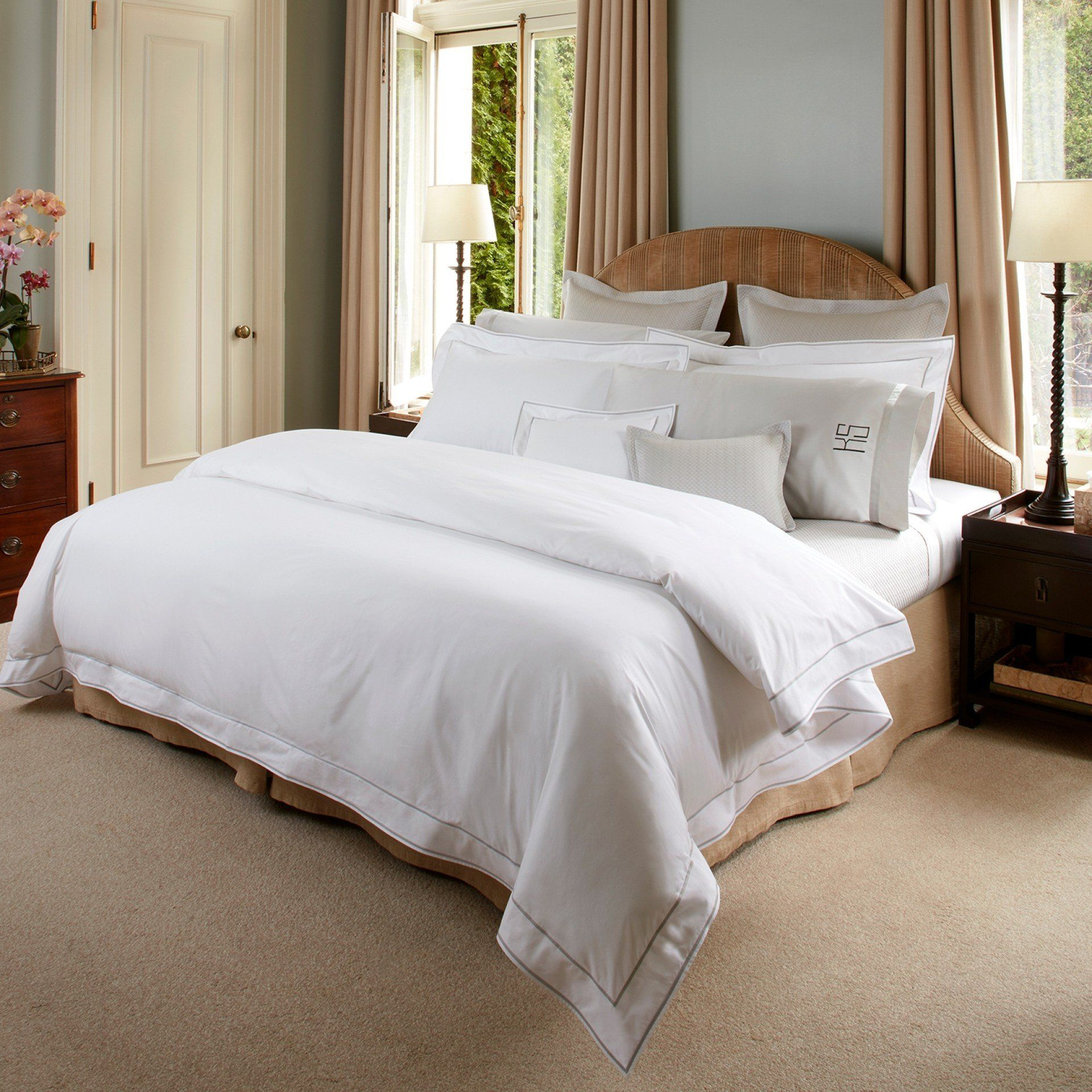 Ansonia Duvets & Shams from Matouk | Fig Linens