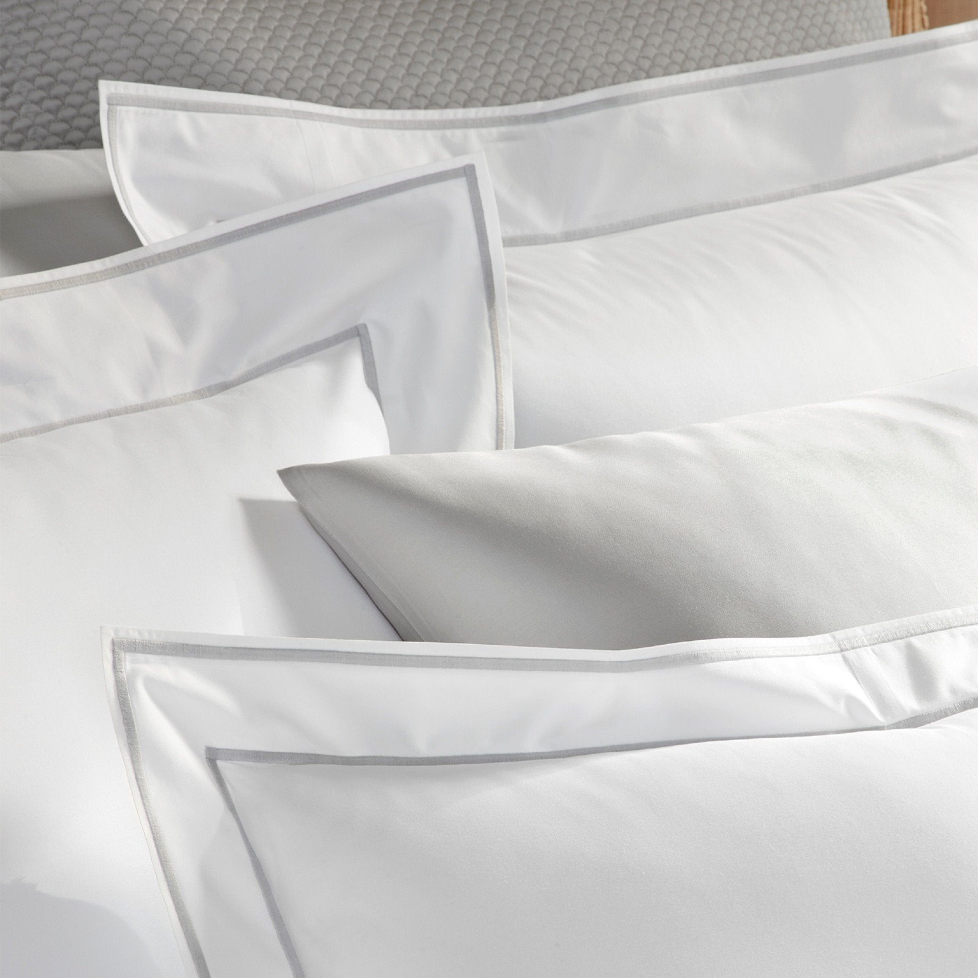 Ansonia Sterling Duvets & Shams from Matouk | Fig Linens