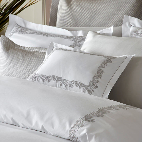 Matouk Bedding - Atoll Duvet, sheets, shams - Fig Linens