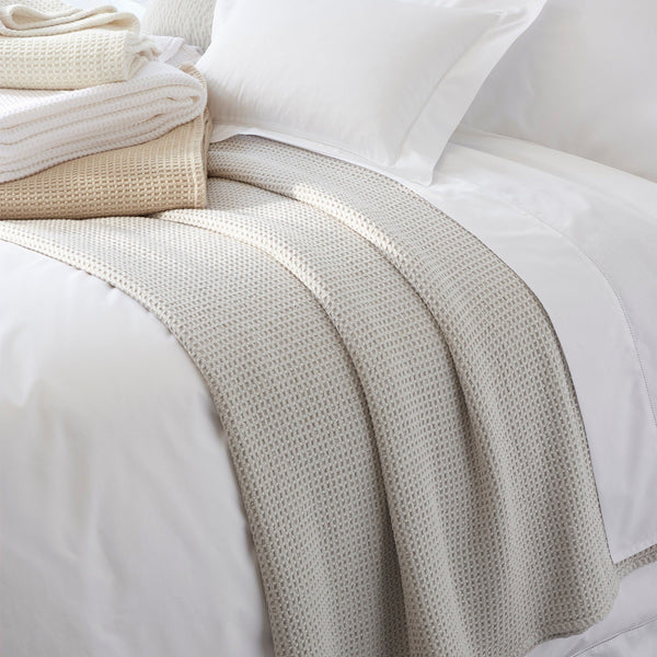 Chatham 100% Cotton Blanket | Matouk at Fig Linens