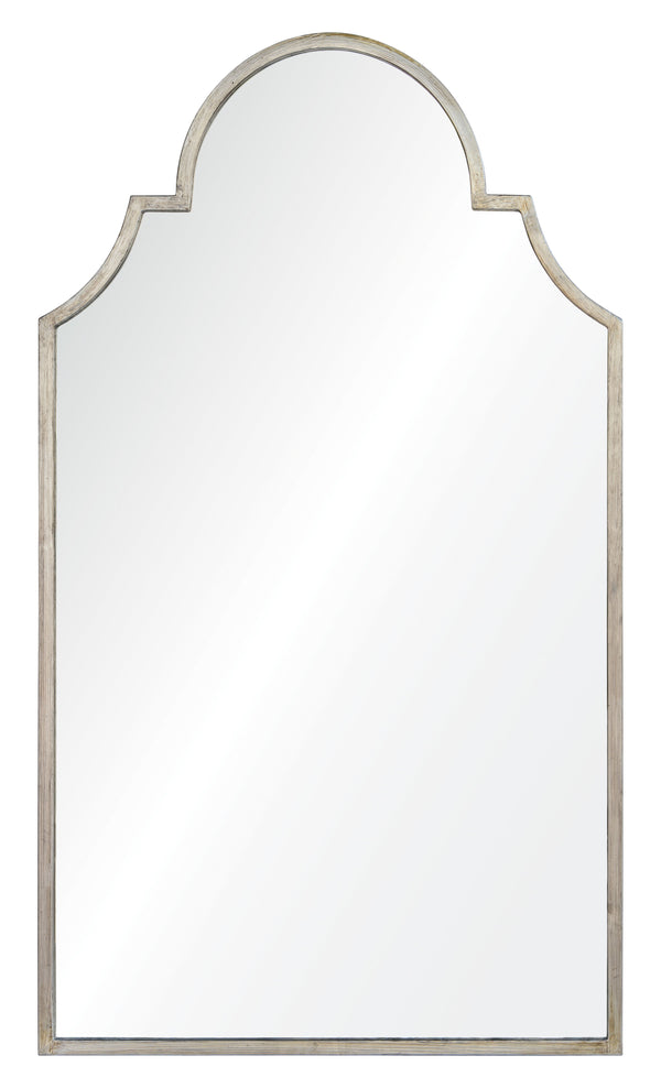 Antiqued Silver Leaf Iron Mirror by Mirror Image Home | Fig Linens