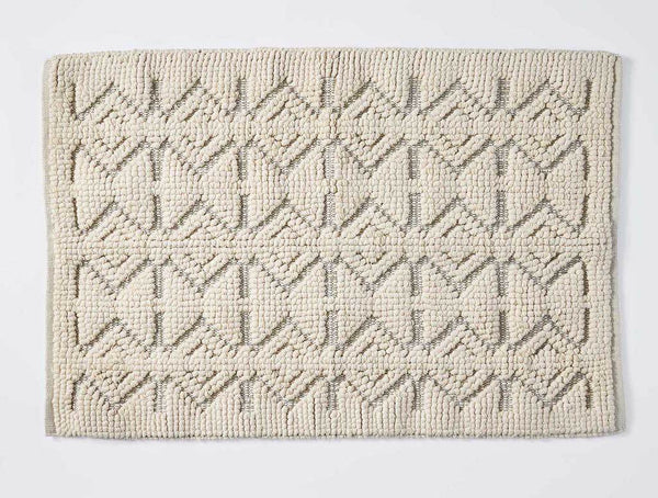 Mosaic Canyon Undyed Organic Rugs by Coyuchi | Fig Linens