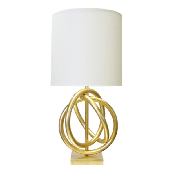 Nathan Gold Table Lamp by World's Away | Fig Linens