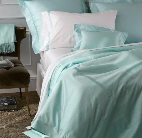 Nocturne Fitted Sheets by Matouk | Fig Linens and Home