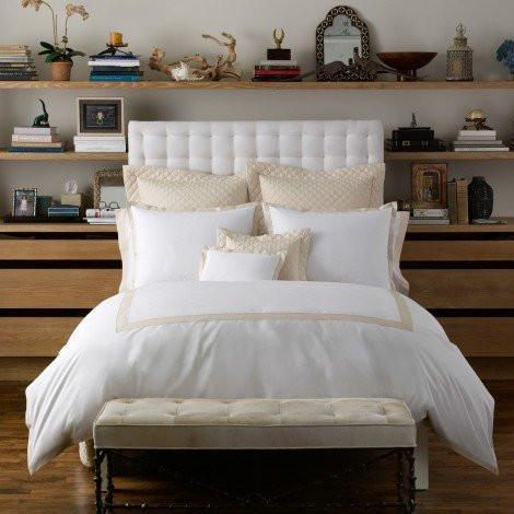Oberlin Beech Bedding by Matouk | Fig Linens and Home