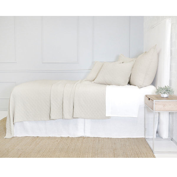Fig Linens - Pom Pom at Home - Ojai Greige Bedding