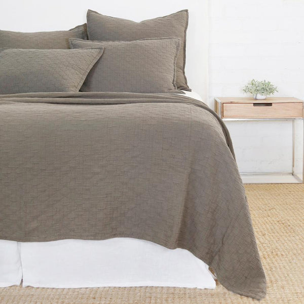 Ojai Pebble Coverlet & Shams by Pom Pom at Home | Fig Linens
