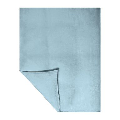 Fig Linens - Originel Stonewashed Linen Bedding by Yves Delorme - Ocean Blue Duvet Cover
