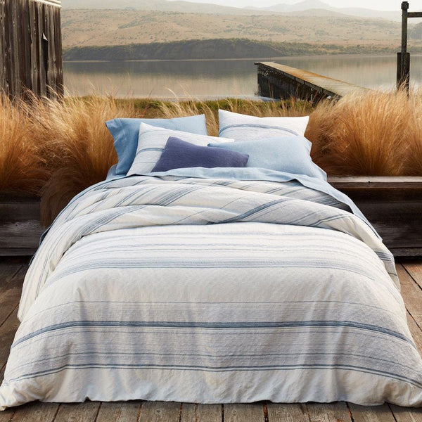 Pacific Grove Sky Organic Duvets & Shams by Coyuchi | Fig Linens