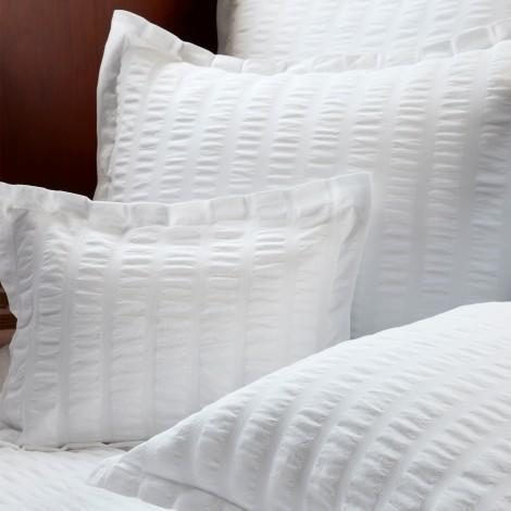 Panama Bedding by Matouk - White Coverlets, Duvets, Shams | Fig Linens