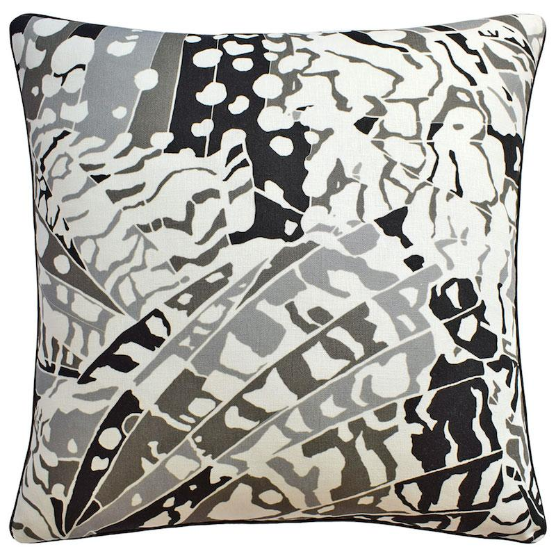 Puccini Black Throw Pillow | Ryan Studio at Fig Linens