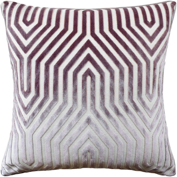 Vanderbilt Velvet Lilac Pillow - Ryan Studio at Fig Linens