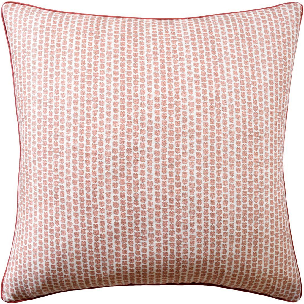 Ryan Studio Kaya Berry Square Pillow - Lee Jofa Fabric - Fig Linens