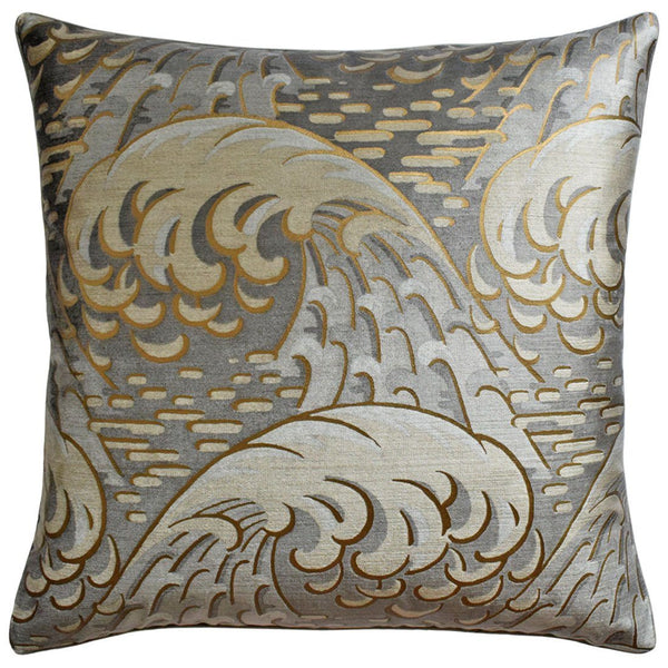 Kaiyou Pewter Pillows | Ryan Studio at Fig Linens and Home