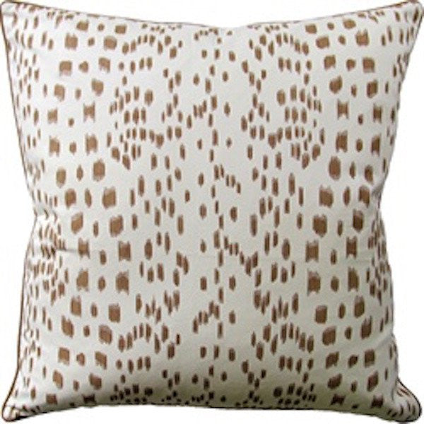 ryan studio les touches tan pillow | fig linens and home