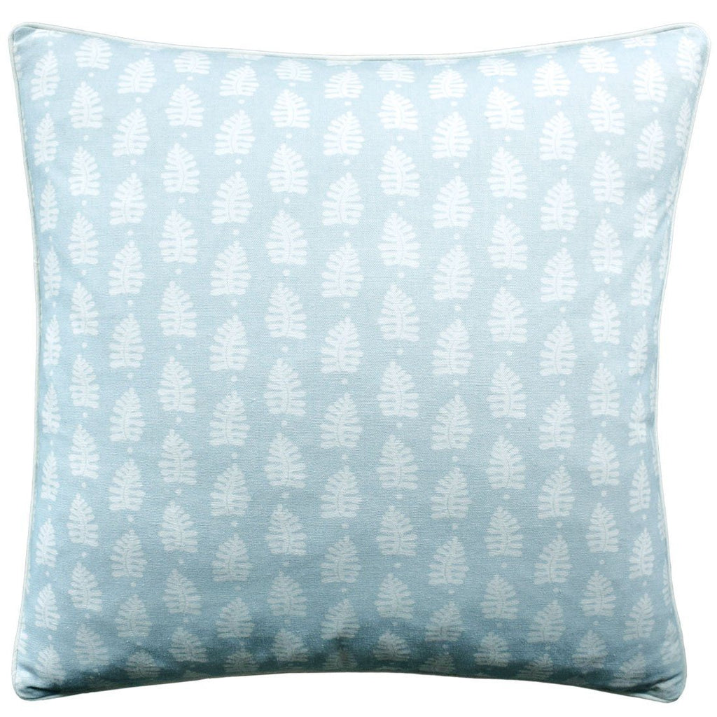 Ferndale Spa Blue Pillow | Ryan Studio Decorative Pillows