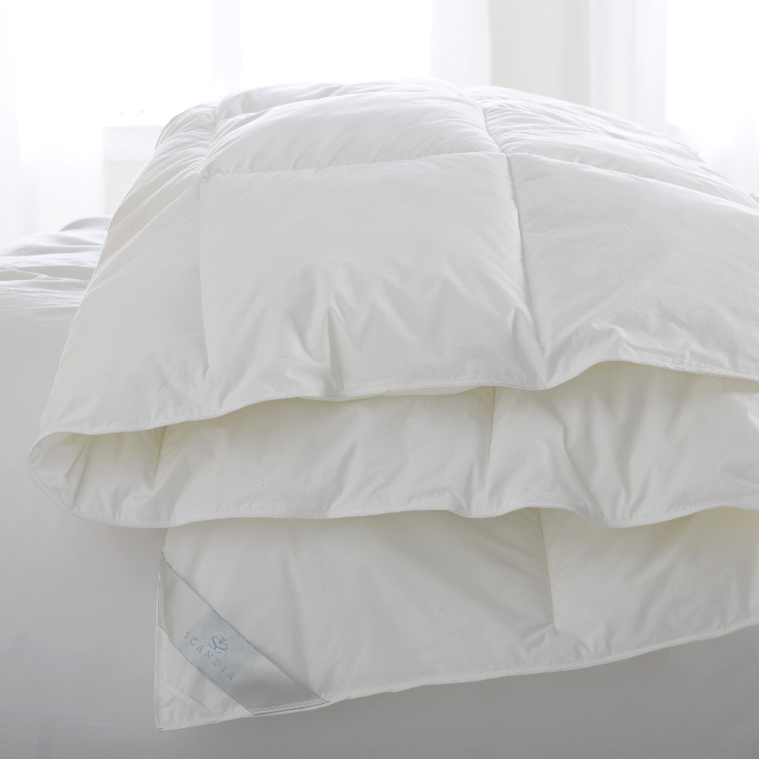 Bergen Down-Free Comforter by Scandia Home