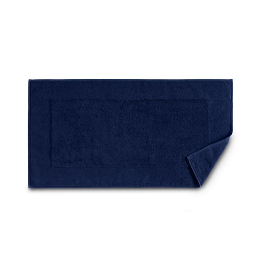 Bello Dark Blue Tub Mat by Sferra