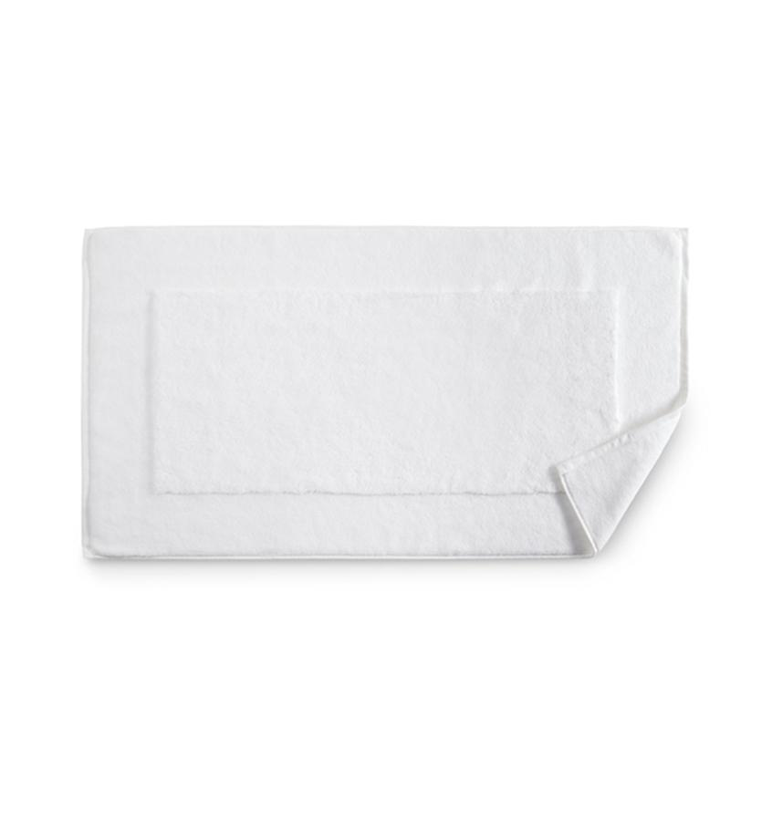 Bello White Tub Mat by Sferra