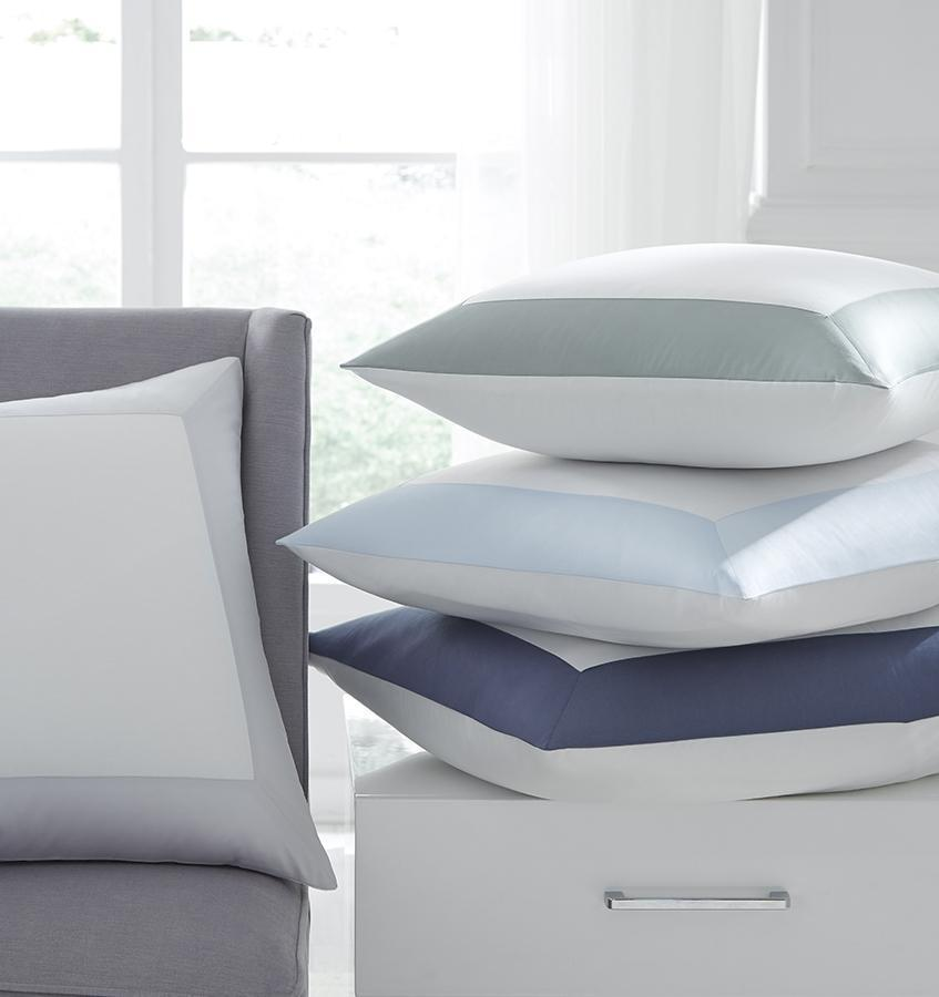 Casida Bedding by Sferra - Modern Shams at Fig Linens