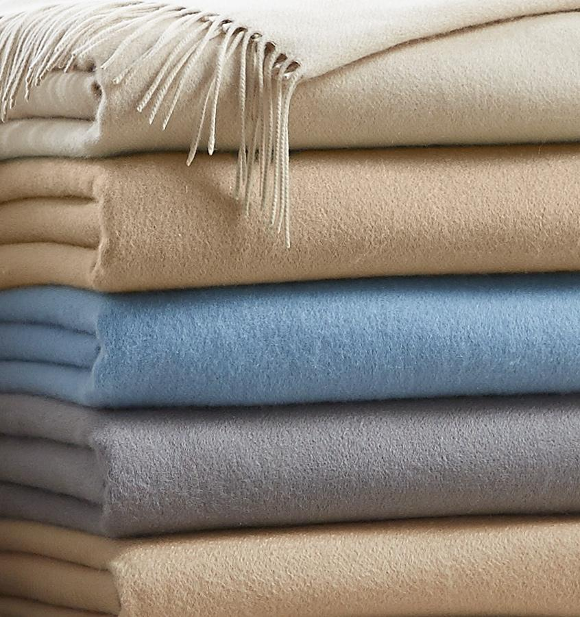 Sferra Dorsey Cashmere Throws at Fig Linens
