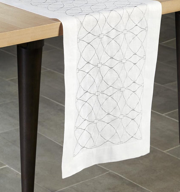Dutchess Table Runner by Sferra Fig Linens