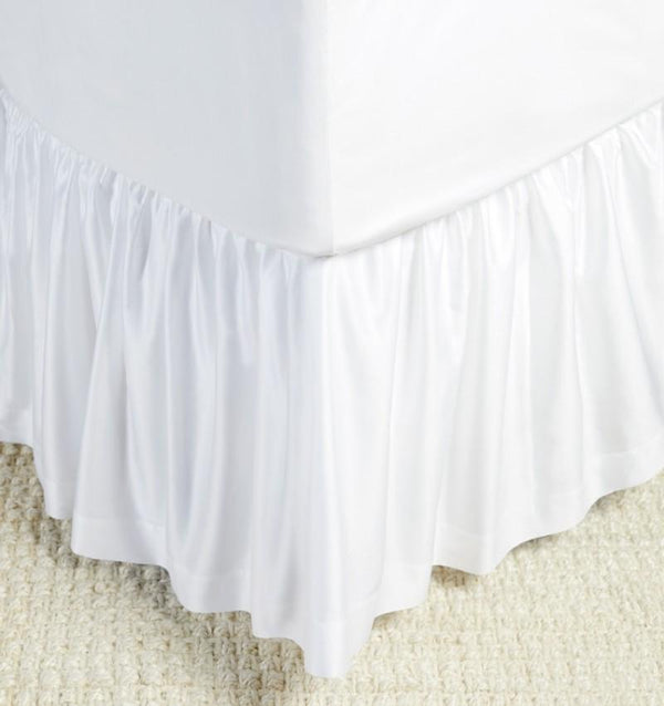 fig linens - giotto bed skirt by sferra