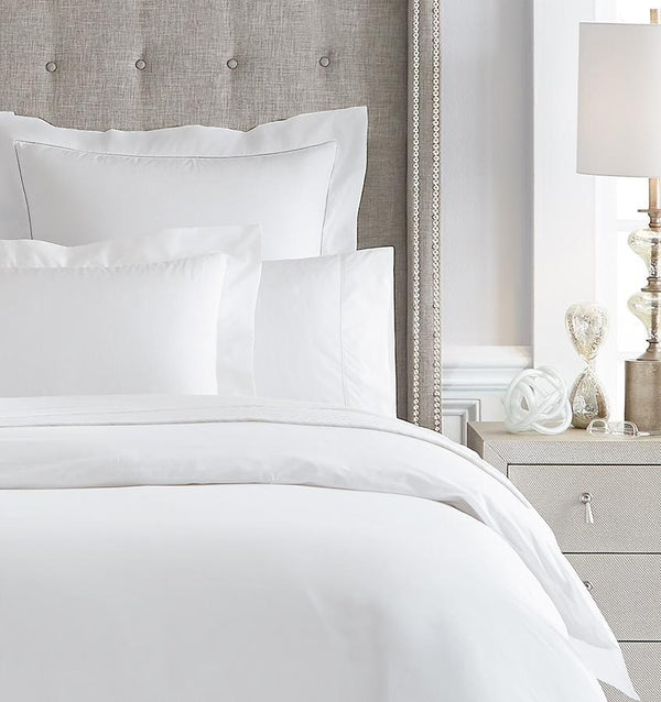 Giza 45 - Percale Bedding Collection by Sferra | Fig Linens - White bedding